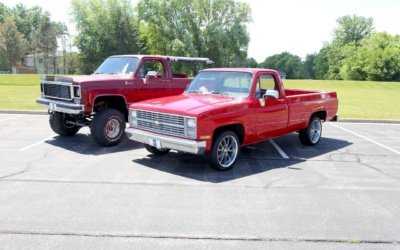 #TransformationTuesday: 1986 Chevy Truck & 1976 Chevy Blazer